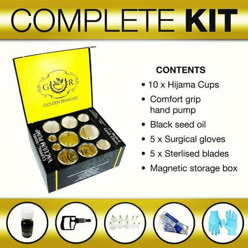 All in One Hijama kit (Complete and unique hijama kit)