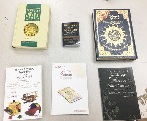 Special 2018 Essential Islamic Books offer with Tajweed Quran and Don't be sad Book