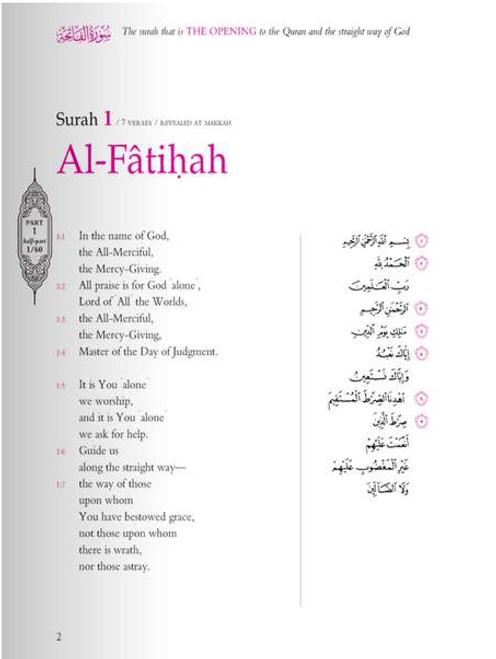 The Gracious Quran (Arabic-English Parallel Edition)