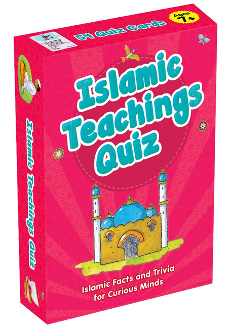 Quran Prophets Hadiths Seerah Qraaan Verses Quiz Cards for Learning Islamic Muslim Kids