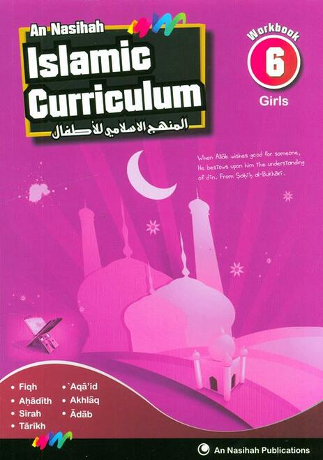Islamic Curriculum Workbook 6 (Girls)
