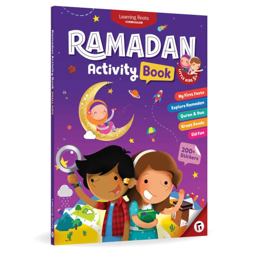 Ramadan Activity Book (Little Kids)