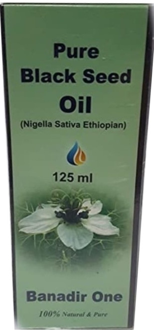 PURE ETHIOPIAN BLACK SEED OIL NIGELLA SATIVA RAW COLD EXTRACTED