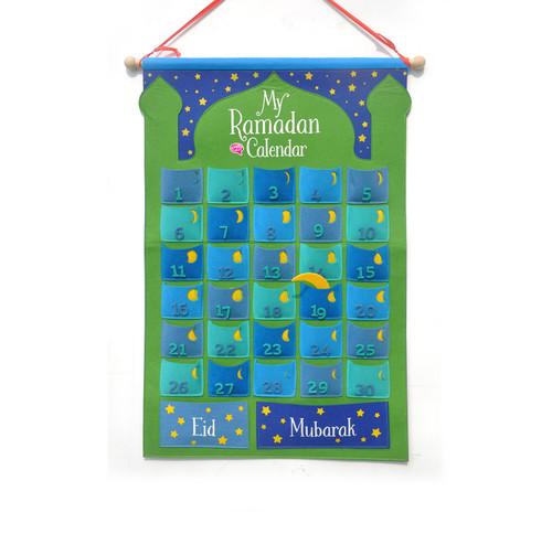 Ramadan Calendar – Green                       Ramadhan