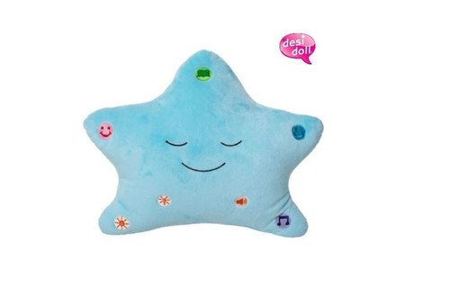 """The Original and Best"" My Dua' Pillow – Blue"