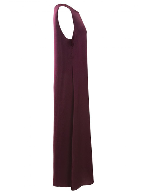 Plum Slip Dress, zadina