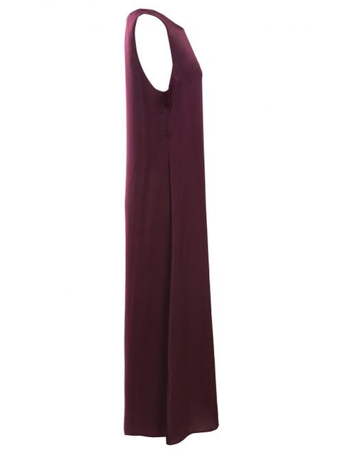Plum Slip Dress, zadina
