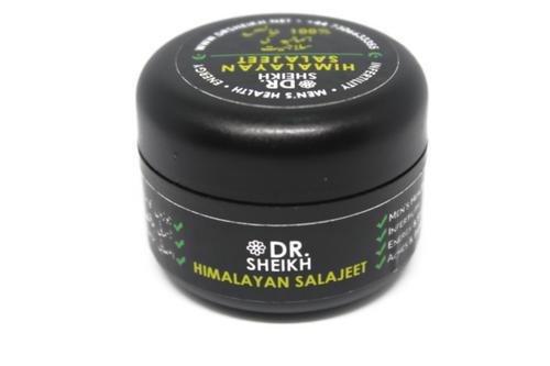 DrSheikh Himalayan Shilajit - 100% Pure, Gold Grade, High Potency (10g)