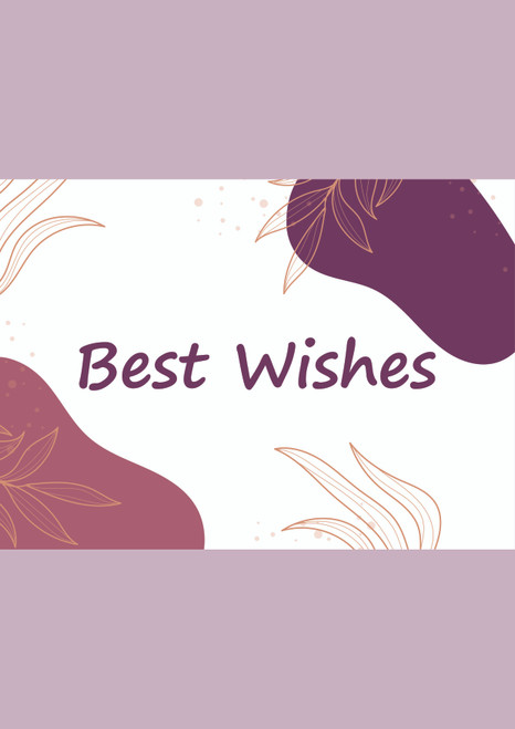 Best Wishes/ Greeting cards