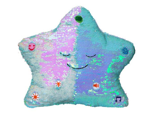 My Dua Pillow Flippable Sequins