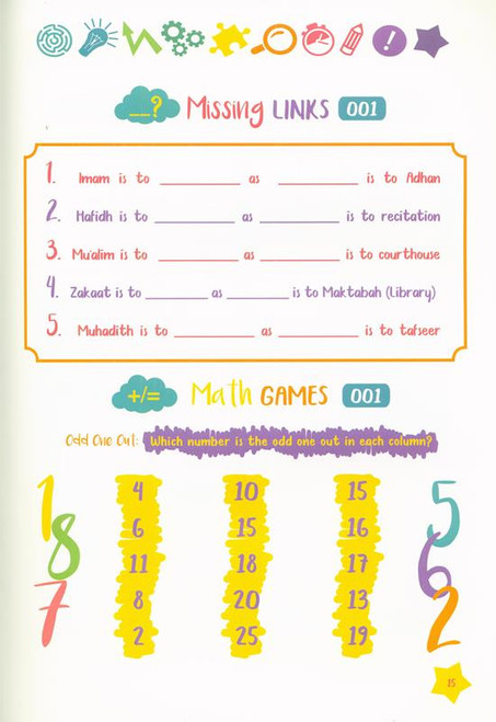 Fun Brain Teasers For Muslim Kids , 9789675699641