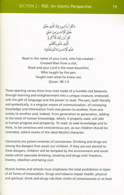 Advice for Muslim Parents on Relationships and Sex Education (24877)