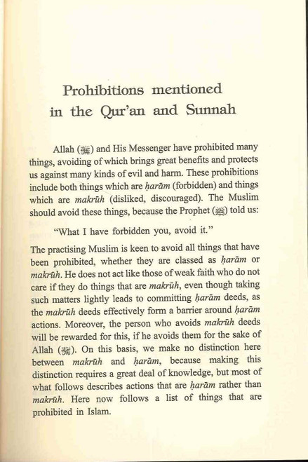 Manhiyyat: Prohibitions in Islam