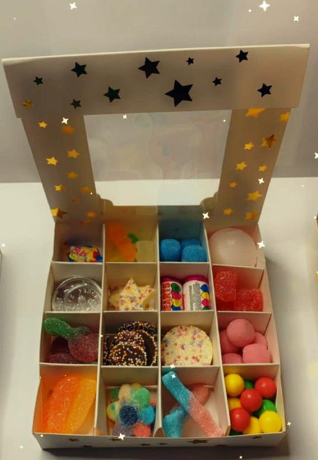 Sweets Boxes Pick and Mix 16 Selection of Halal Sweet Zone Jelly (21433)