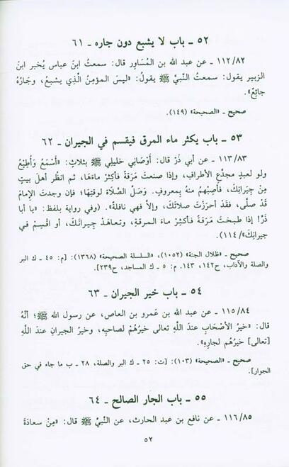 Sahih Al Adab Al Mufrad :Imam Bukhari (Arabic Only)