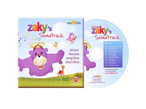 Zaky's Sound Track CD ( Songs From Zakys Films )