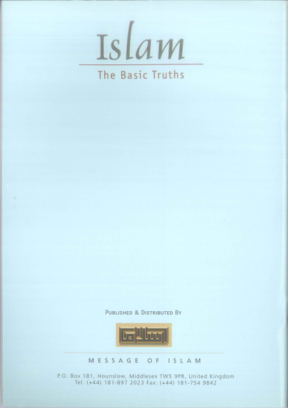 Islam The Basic Truths