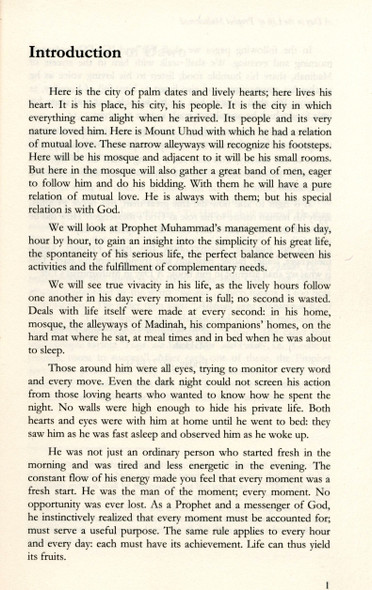 A Day In The Life Of Muhammad - A Study In The Prophet's Daily Programme
