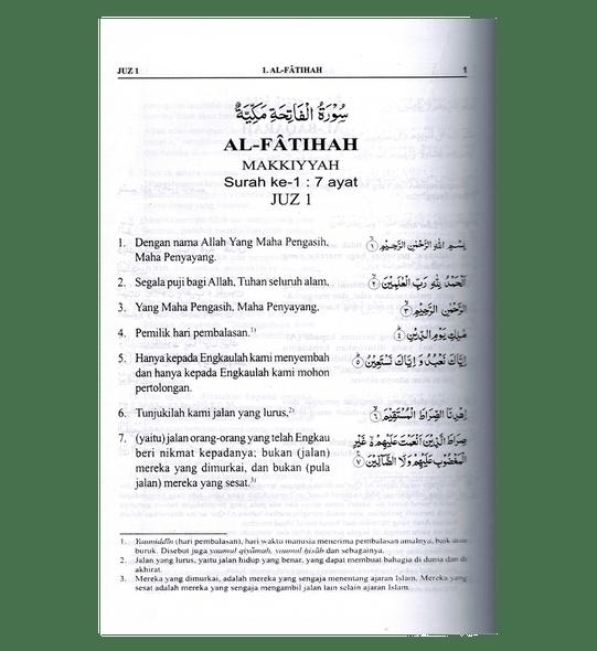 Quran Indonesian Language, Darussalam : AL Quran Dan Terjemahnya