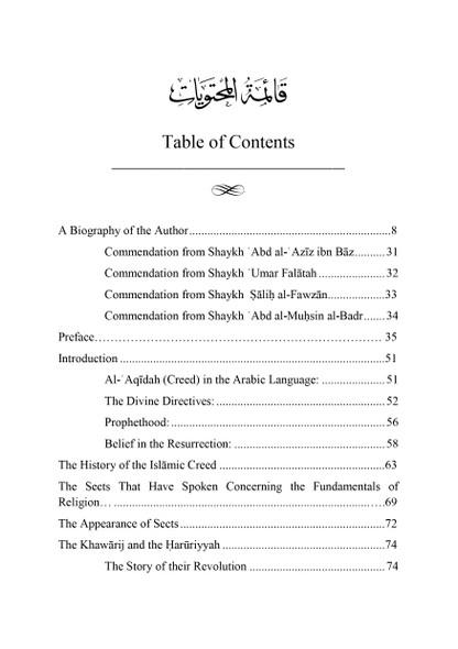 The Islamic Creed & its History