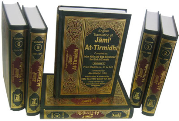 Jami At Tirmidhi : English, Arabic : 6 Volume Set