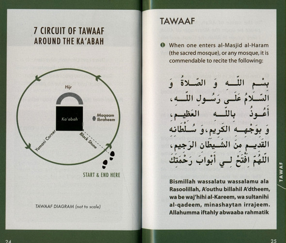 Hajj & Umrah : Pocket Plus Size