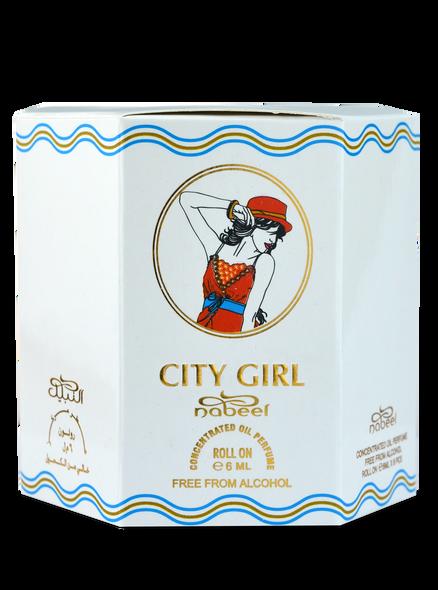 City Girl Oil Perfume-Attar (6ml Roll-on)