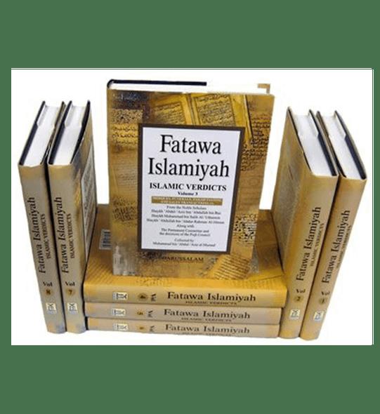 Fatawah Islamiyah : Islamic Verdicts : 8 Volume Set