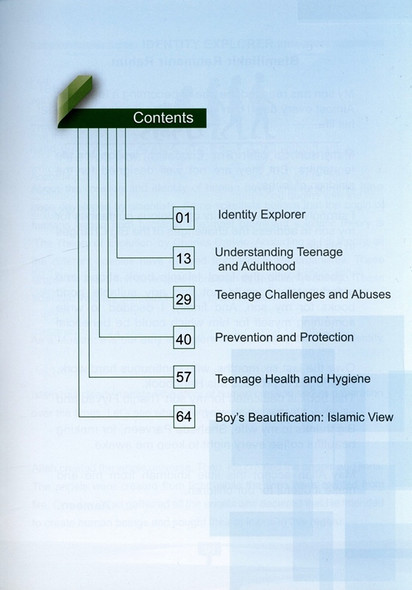 The Handbook for Muslim Teenagers - Boys Edition