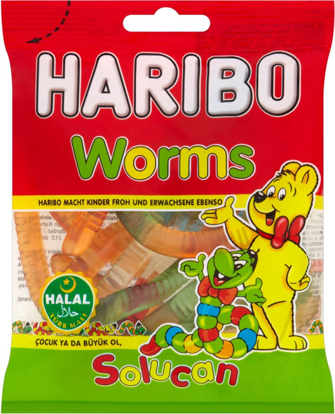 Worms Solucan By Haribo Sweets