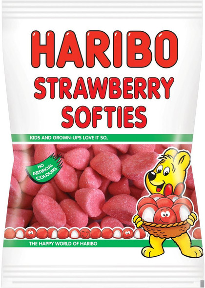 Strawberry Softies by Haribo