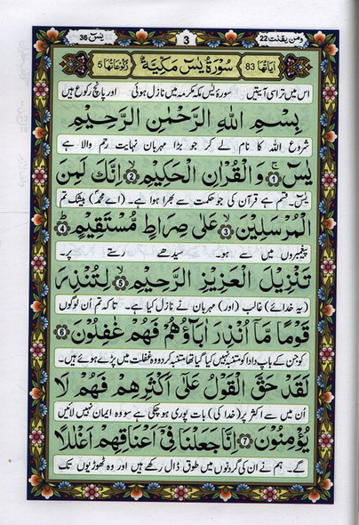 Five Surahs with Translation