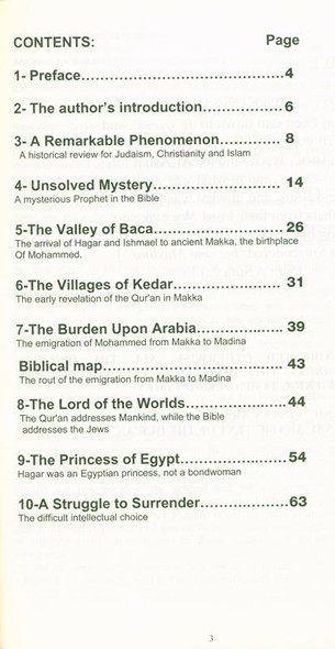 The Princess of Egypt and That Mysterious Prophet