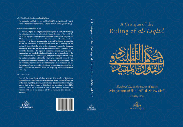 A Critique Of The Ruling Of al-Taqlid, 9781916475649