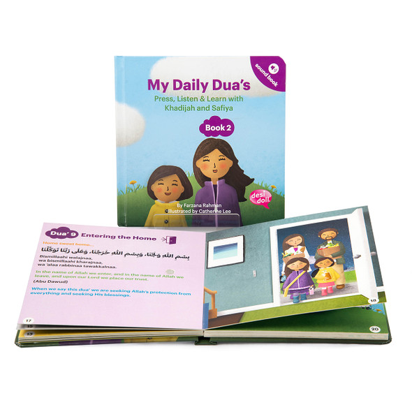 My Daily Dua's Story Sound Book 2,  9781916500044