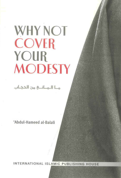 Why Not Cover Your Modesty : Soft Cover
