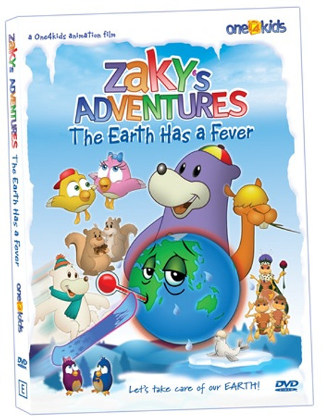 Zaky's Adventures The Earth Has a Fever DVD