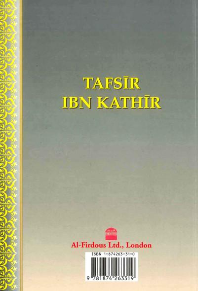 Tafsir Ibn Kathir Part-8 By Al-Firdous Ltd
