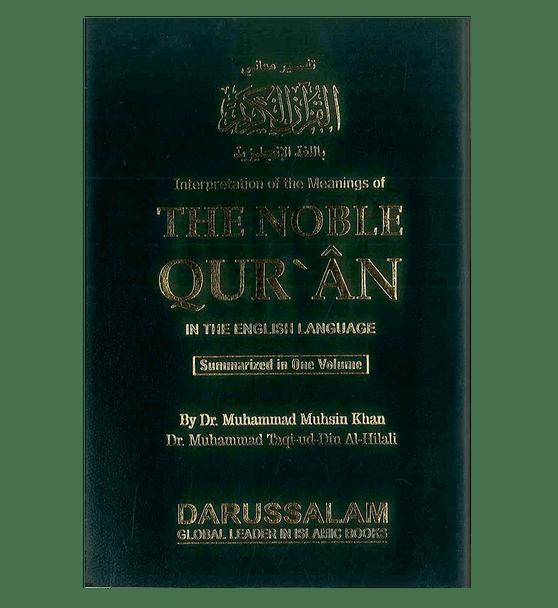 Noble Qur'an Arb/Eng (Medium SB Fine Paper)