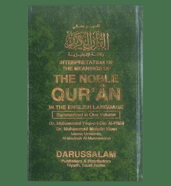 Noble Qur'an Arb/Eng (Medium HB Fine Paper)