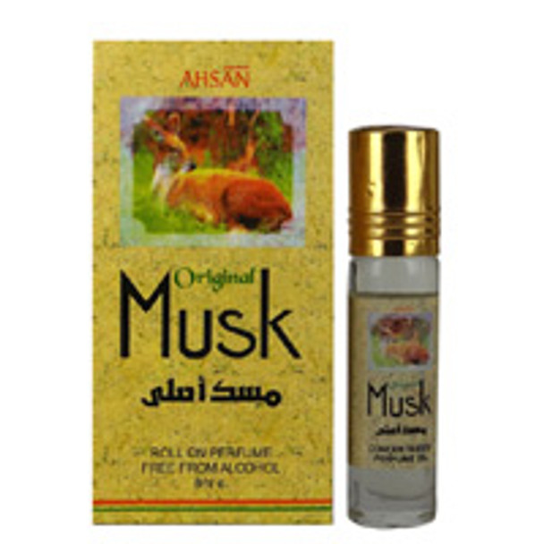 Original Musk Concentrated Perfume-Attar (6ml Roll-on)