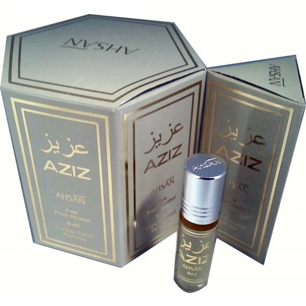 Aziz Concentrated Perfume-Attar (6ml Roll-on)
