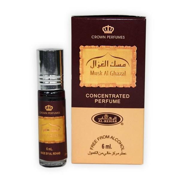 Musk al Ghazal Concentrated Perfume-Attar (6ml Roll-on)