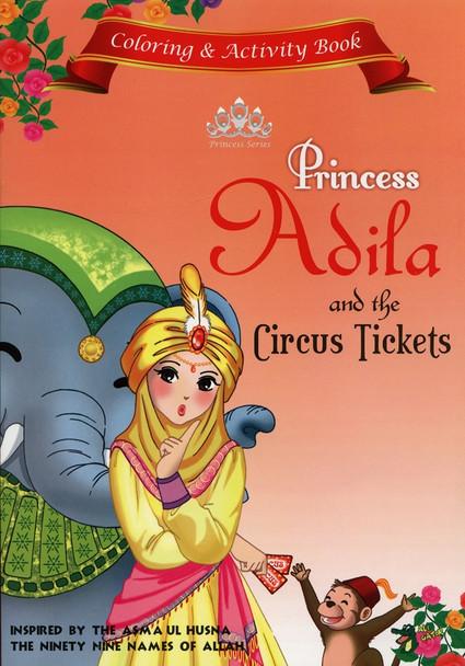 Princess Adila Coloring and Activity book