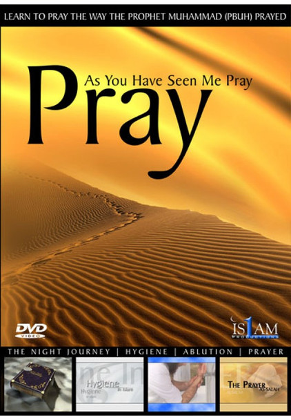Pray As You Have Seen Me Pray DVD