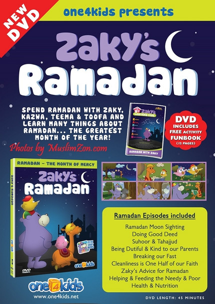 Zaky's Ramadan – Ramadan with Zaky & Friends DVD