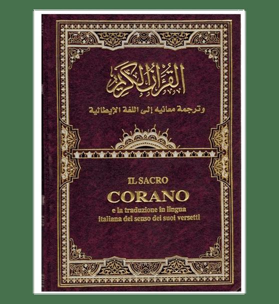 The Noble Quran In Italian Language IL Sacro Corano (Transliteration) (1529)