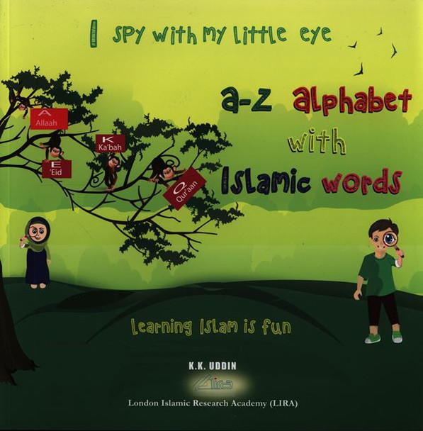 I spy with my little eye (A-Z Alphabet with Islamic words)