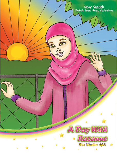 A Day With Razanne Coloring Book
