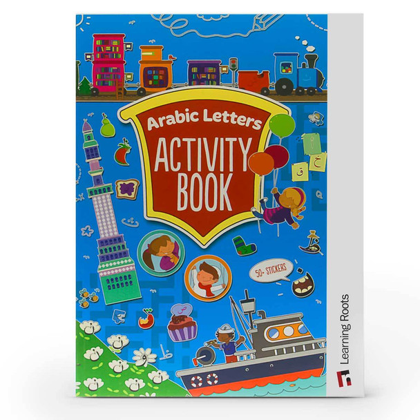 Arabic Letters Activity Book